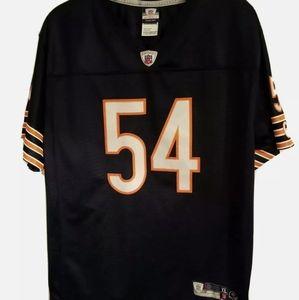 Reebok NFL Chicago Bears Brian Urlacher #54 Boys